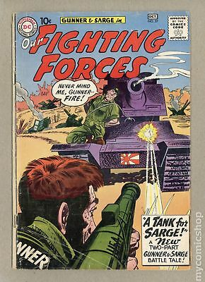 Our Fighting Forces (1954) #57 GD+ 2.5 LOW GRADE