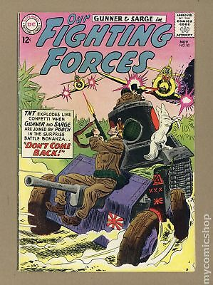 Our Fighting Forces (1954) #80 VG+ 4.5 LOW GRADE