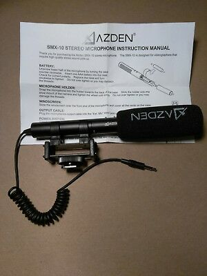 Azden SMX-10 Stere Microphone. Never used!!!