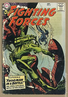 Our Fighting Forces (1954) #37 GD- 1.8 LOW GRADE