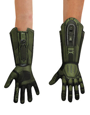 Master Chief Halo Spartan Soldier Child Deluxe Gloves Costume Accessory