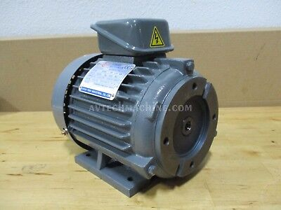 Chyun Tseh AC Electric Motor 1HP 3 Phase NEW 00143