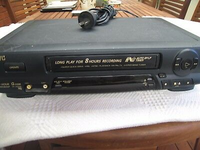 JVC VCR Video Cassette Recorder VHS Player without Remote.HR-J435EA