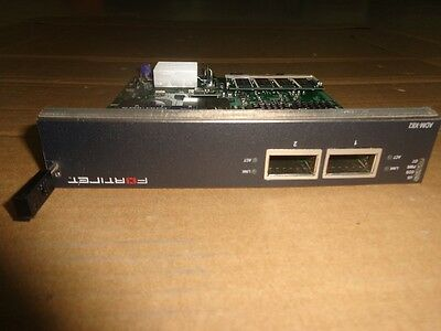 Fortinet Adm-Xb2 Accelerated 2 10Gbe Interface Module
