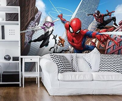 360x254cm SPIDER-MAN Photo Wallpaper Wall Mural MARVEL for KIDS Made in Germany