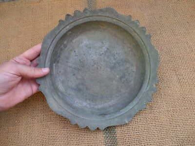 Antique Ottoman Empire Tughra Islamic Big And Heavy Bronze Plate 19C Or Early