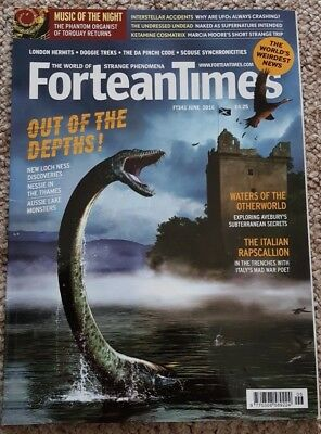Fortean Times 341 (June 2016) - Lake Monsters, Avebury secrets