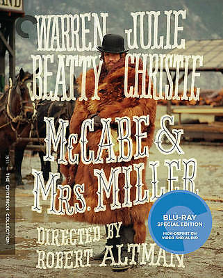 McCabe  Mrs. Miller (Blu-ray Disc, 2016, Criterion Collection)