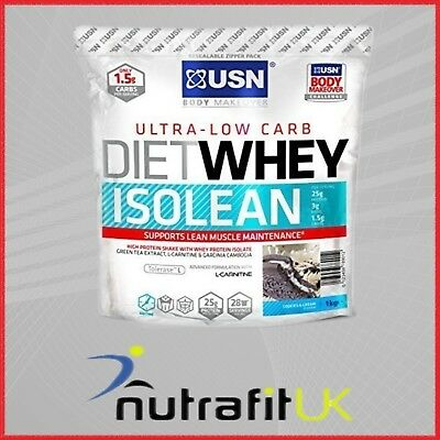 Usn Diet Whey Isolean Protein Isolate Low Carb 1Kg