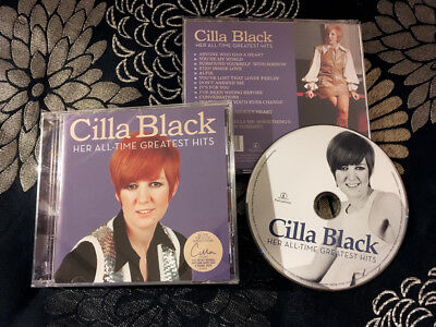 CILLA BLACK Her All-Time Greatest Hits (NEW Sealed Parlophone Very Best Of CD)