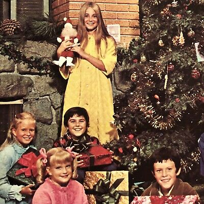 Merry Christmas From THE BRADY BUNCH (1970) • 1st & ONLY Vinyl Edition • MARSHA!