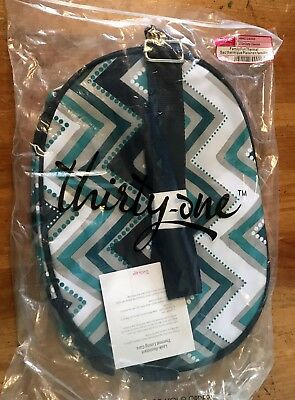 NEW Thirty One Family Fun Thermal In Dotty Chevron Leakproof lining