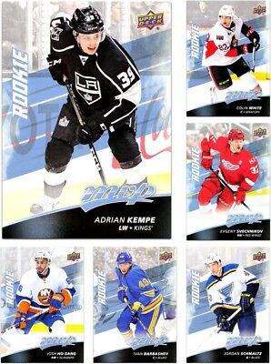 2017-18 Upper Deck MVP ROOKIES **** PICK YOUR CARD **** From The SET