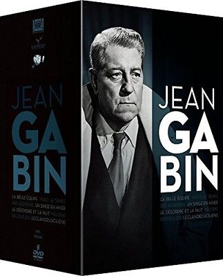 DVD - Gabin (Version 2017) - Coffret 6 Films - Jean Gabin,Jean-Paul Belmondo,Hen