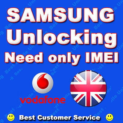 Samsung Galaxy VODAFONE Unlock Code S6 EDGE S7 EDGE S8 + Unlocking UK