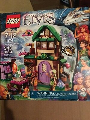 Lego Elves 41174 The Starlight Inn 343 Pieces Factory Sealed BRAND ...