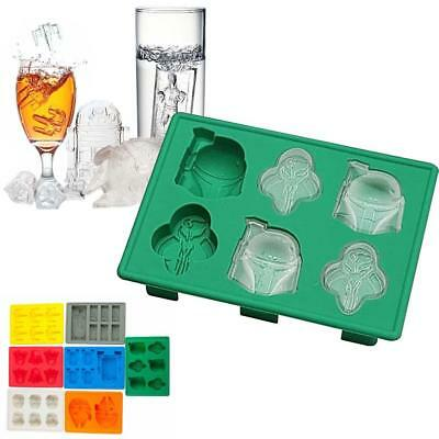 Star Wars Silicone Ice Tray Mold Ice Cube Tray Chocolate Pudding DIY Han Solo M&