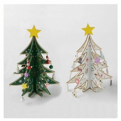 Japanese Christmas Tree Ornaments.Alice In Wonderland Mini Wooden Christmas Tree Ornaments Decoration White Japan