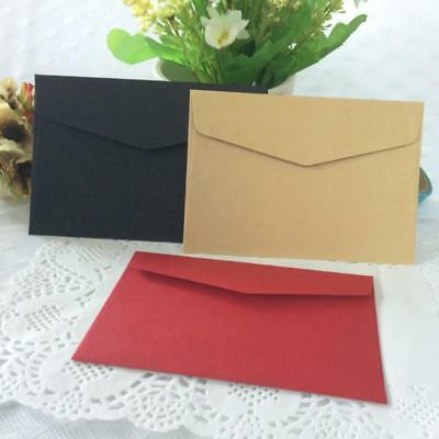10Pcs Candy Color Paper Envelope Cute Mini Envelopes Vintage European Style Pro