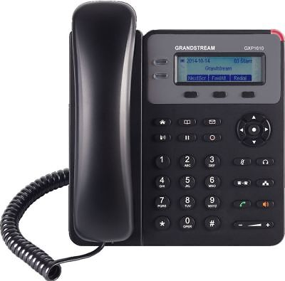 Grandstream GXP1610 1 Line HD IP Phone w/ LCD Display VoIP