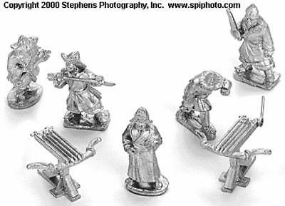Old Glory Mongols in Europe 25mm Mongol Engineers & Ballistae Pack MINT