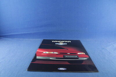 61874 - Ford Windstar Unlimited 12/95 Deutsch Broschüre Brochure Prospekt Auto