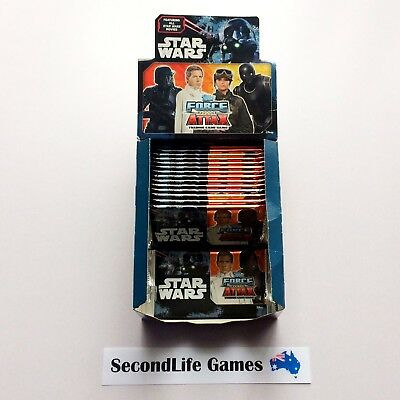 x16 Star Wars FORCE ATTAX Playing Cards ~ Topps. Bulk Lot. With Box.
