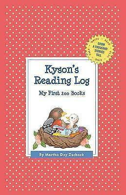 Kyson's Reading Log: My First 200 Books (Gatst) by Zschock, Martha Day -Hcover