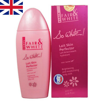 Paris Fair And White So White Skin Perfector 500ml Body Lotion, Authentic.