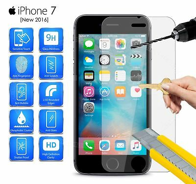 New 9H+ Premium Real Screen Protector Tempered Glass Protective Film For iPhone