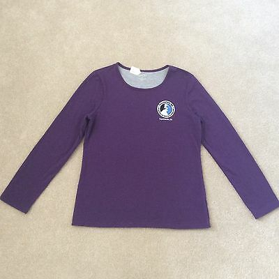 RescueCats T-shirt - Women's XL Purple Long Sleeve