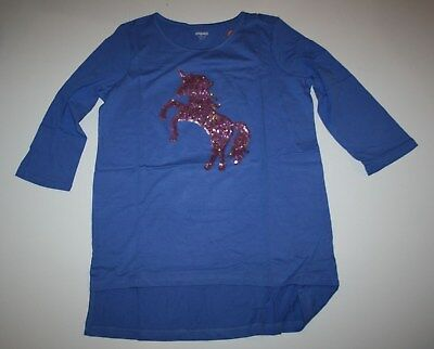 New Gymboree Lavender Sparkly Sequin Sparkle Unicorn Tunic Top Size 10 Year NWT