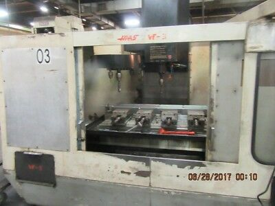 used Haas VF-1 vertical machining center new 1991, well maintained