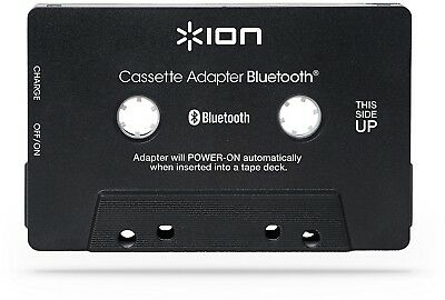 ION Audio Bluetooth Cassette Adapter Bluetooth Audio Streaming for Cassette and