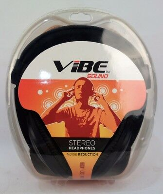 Vibe Sound Stereo Headphones DJ Style (Noise Reduction)