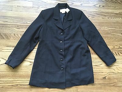 New Motherhood Maternity Black Suit Jacket Church Career Medium