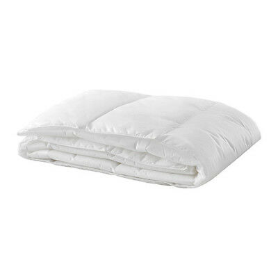 IKEA Lightweight Thin Duvet Doona Bed Cover Insert Single Queen King White