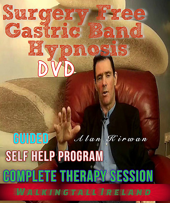 Surgery Free Gastric Band Complete Hypnosis Session DVD
