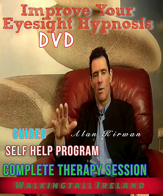 Improve Your Eyesight  Complete Hypnosis Session DVD