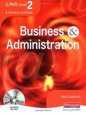 S/NVQ Level 2 Business and Administration Student Book (S/NVQ Business & Admin,