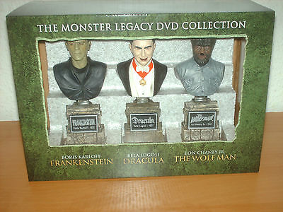 Sammlung The Monster Collection: Frankenstein, Dracula und The Wolfman NEU!