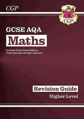 New CGP GCSE Maths AQA Revision Guide 9-1 Higher  With Online Edition
