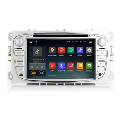 Android 7.1 Ford Focus C/S-Max Mondeo Galaxy NAVI Autoradio DAB+ WiFi OBD DTV-IN