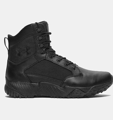 Under Armour Stellar Duty Tactical Lightweight Black Boots FREE UK Shipping