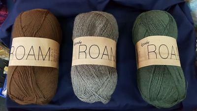 Wendy Roam 4ply sock yarn
