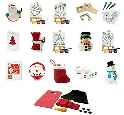Children's Christmas Puzzle Christmas Eve Box Stocking Party Bag Fillers Games