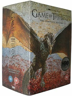Game of Thrones Complete Seasons 1-6 DVD Box Set 30 DVD  FREE SHIPPING