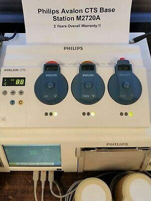 Philips M2720A Avalon CTS Base Station Fetal Telemetry $2199 - 2 Year Warranty