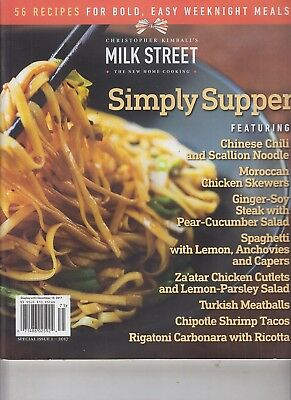 Christopher Kimball's Milk Street The New Home Cooking 56 Recipes 2017