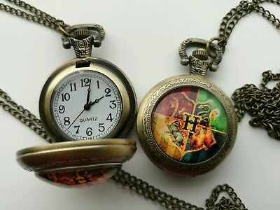 Harry potter pocket watch christmas wedding birthday holiday gift watch